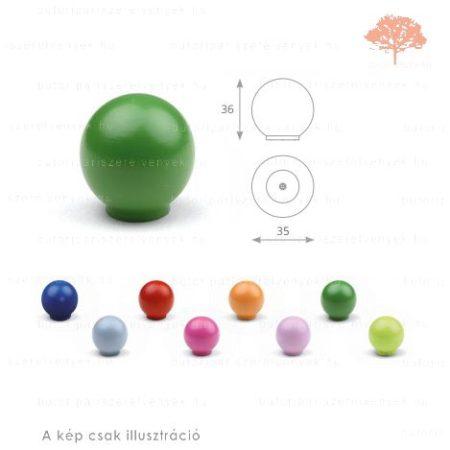 BA zöld színű gomb