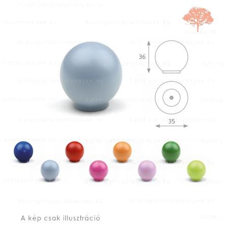 BA kék színű gomb
