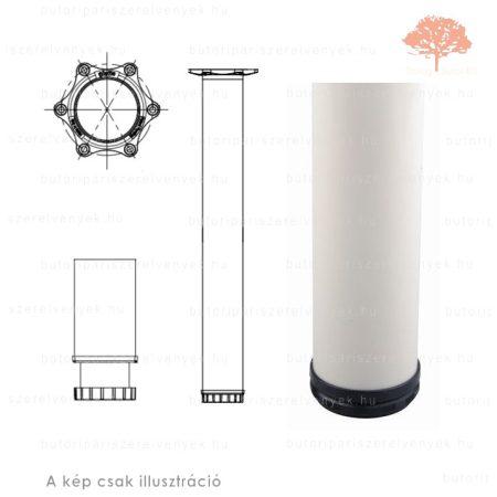 Henger alakú fehér színű ø60mm / 710mm-es asztalláb