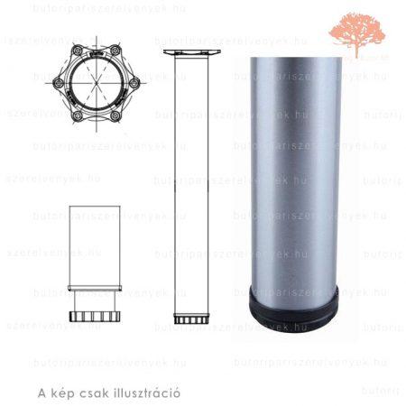 Henger alakú nemesacél imitáció színű ø60mm / 710mm-es asztalláb