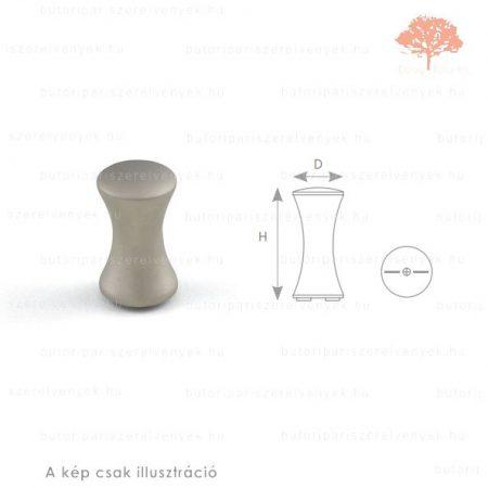 RU16 szatén (matt) nikkel színű fogas