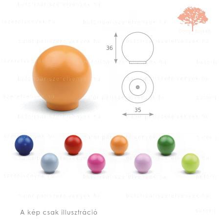 BA narancssárga színű gomb