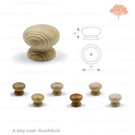 AD natúr borovi gomb
