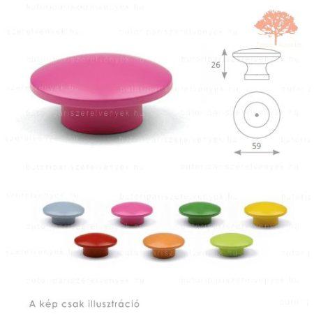 SO rózsaszín színű gomb