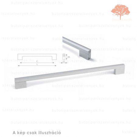 VE224 fényes króm/alumínium színű fogantyú