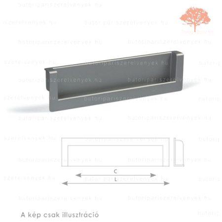 RA160 ezüst színű besüllyeszthető fogantyú