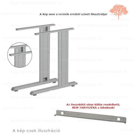 Irodai RAL 7012 antracit színű állítható magasságú asztalláb
