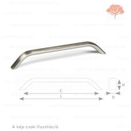 MA160 acél imitáció színű fogantyú