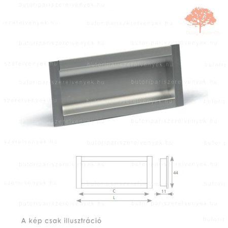 MA192 alumínium színű besüllyeszthető fogantyú