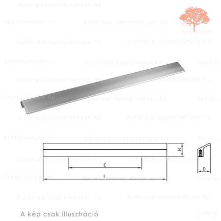 IS96 alumínium színű fogantyú