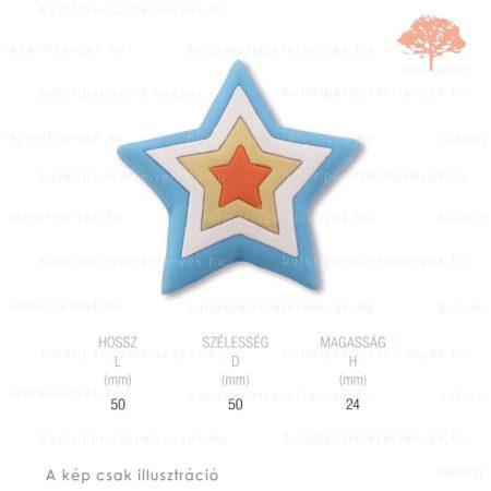 ST csillag lágyított műanyag gomb