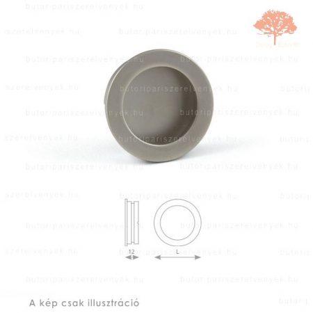 KN szatén (matt) nikkel színű besüllyeszthető fogantyú
