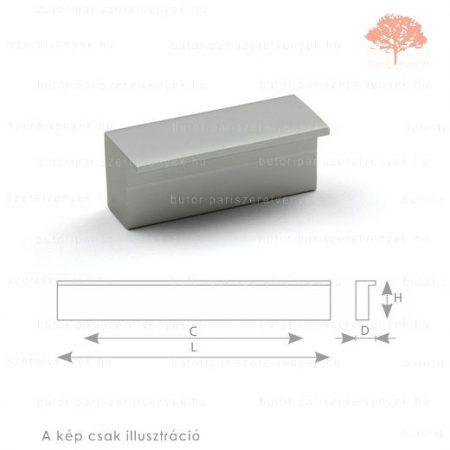 ZU128 alumínium színű fogantyú