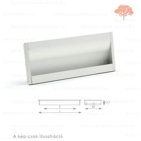 AN256 ezüst színű besüllyeszthető fogantyú