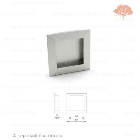MA ezüst színű besüllyeszthető fogantyú