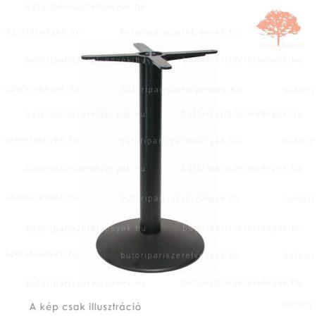 Központi fekete színű ø400mm / 720mm-es asztalláb